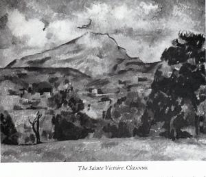 Cezzane The Sainte Victoire