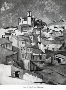 Cezzane View of Gardanne
