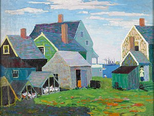 """Jersey Shore"" Clara Stroud (1890-1984)"