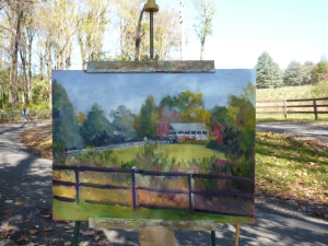 Baldpate Mountain Painting