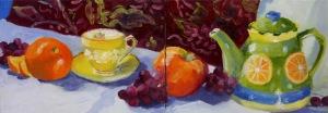 Citrus Tea and Fruit 5 x 14 2387