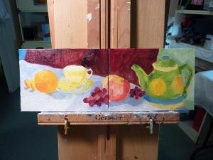 Citrus Tea and Fruit 2
