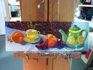 Citrus Tea and Fruit 3