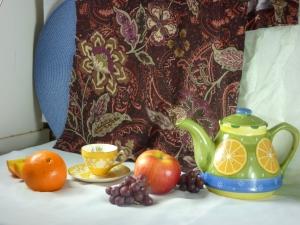 Citrus Tea and Fruit