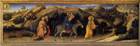 Rest During the Flight into Egypt - 1423 by Gentile da Fabriano