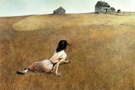 Christina's World - 1948  by Andrew Wyeth