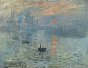 Impression Sunrise - by Claude Monet 1872
