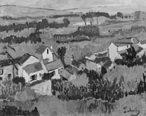 BW andre derain fauvist landscape-near-chatou-1904-1