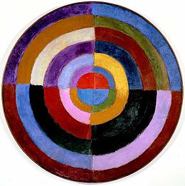 Premier Disque by Robert Delaunay 1912-13