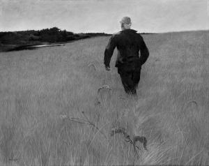 Andrew Wyeth - Turkey Pond BW
