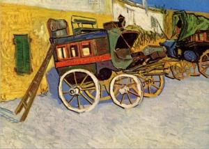 Vincent Van Gogh - Wagon