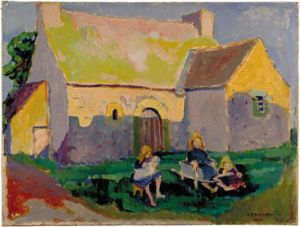 413px-Breton_church_Emily_Carr_1906